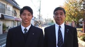 息子と父。 河瀬諒介・泰治