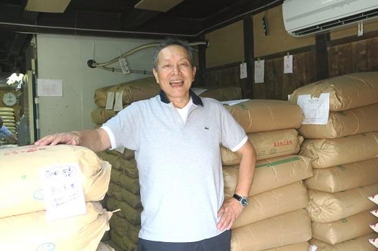 紺グレ復活を願い、お米を送る。南丹すまいる代表取締役 藤井勝也