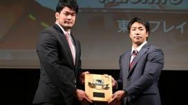 新人賞を獲得 東芝のLO小瀧が「強みを見つけてもらった」と話すわけ