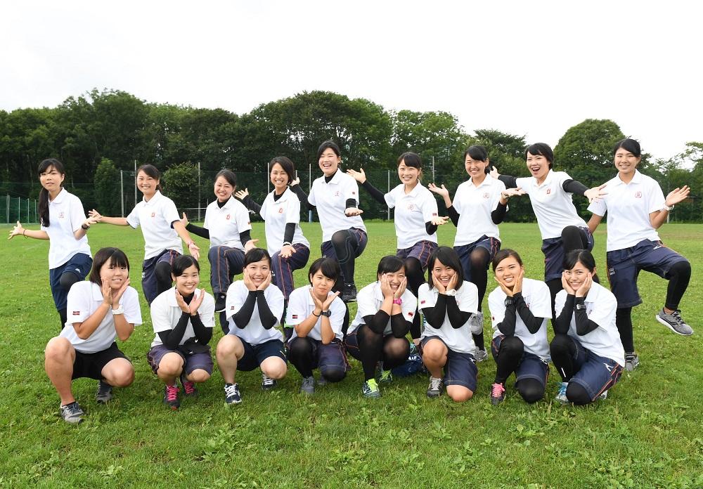 長野県菅平高原で夏合宿をおこなっている関西学院大のマネージャー(撮影:Hiroaki. UENO)