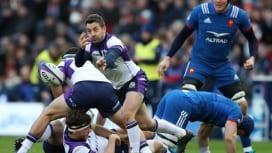 スコットランドがホームでフランスに逆転勝ち! レイドローの右足完全復活