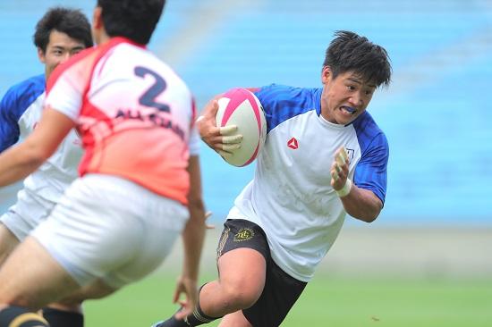 仲間の代表としてプレーする喜び。明治学院大・松下太郎、最終学年に懸ける。