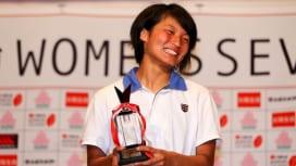 年間MVPは福島わさな(追手門学院大)。太陽生命ウィメンズセブンズシリーズ2016
