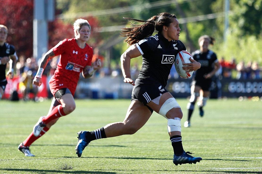 女子セブンズカナダ大会はNZが優勝(C)Michael Lee-KLC fotos/World Rugby