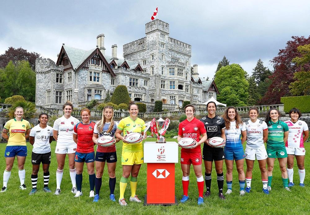 女子セブンズ最高峰カナダに集結(C)Mike Lee KLC fotos / World Rugby