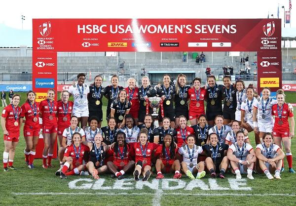 東京五輪への戦いスタート ワールド女子セブンズシリーズ開幕戦はNZが優勝