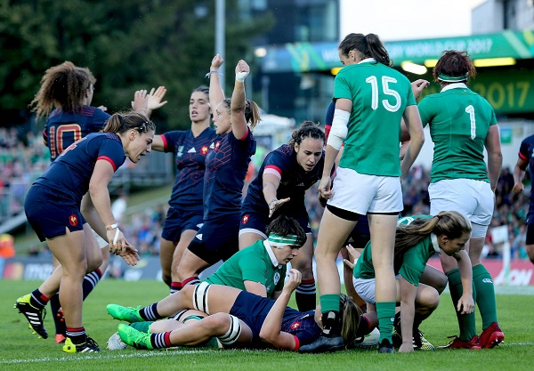 女子W杯 開催国アイルランドは4強入り逃す… NZ、英、仏、米が準決勝へ