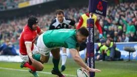 アイルランドがシックスネーションズ3連勝! ウェールズは接戦落とし連敗