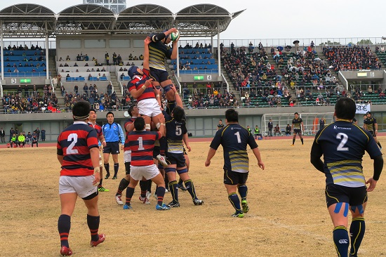 立命館大が大学選手権出場! 関西学院大を22−19で破り3位を確保。
