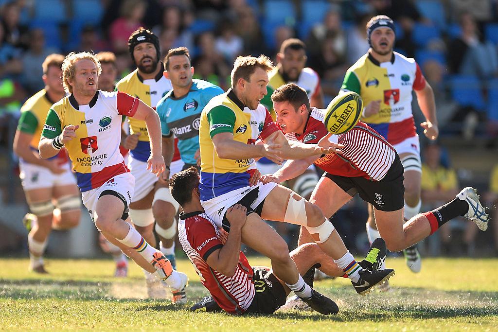 豪州プロリーグのNRC、シドニー・レイズ対キャンベラ・バイキングス戦(C)Getty Images