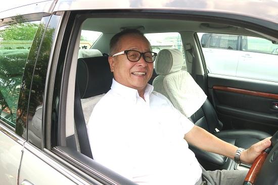 岡本博雄、未だ酷暑に負けず。 大阪府立淀川工業高校前監督