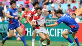 シールド決勝へ。男子セブンズ日本代表、韓国から6Tで今季香港大会初勝利。