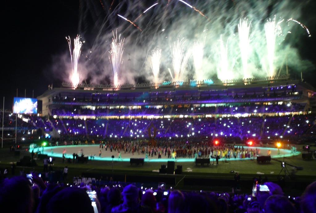 2011年ラグビーW杯開幕。マオリスピリッツあふれる迫力満点のセレモニーに盛大な拍手が送られた