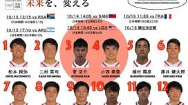 男子セブンズユース日本代表「金」目指す。ユースオリンピックいよいよ開幕。