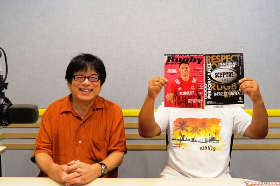 9月の『藤島大の楕円球にみる夢』は本日21時30分から。トップリーグ特集だ!