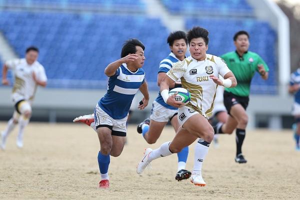 熊谷で決めた! 流経大と大東大が大学選手権準々決勝へ。
