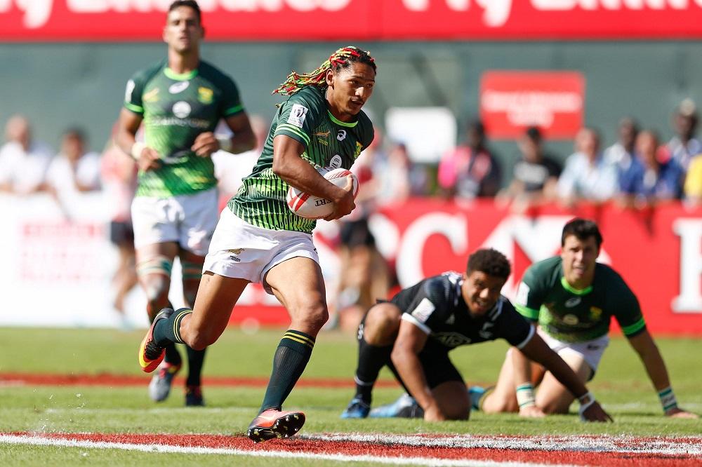 男子ワールドセブンズシリーズ今季第1戦ドバイ大会は南アが制す(Photo: World Rugby)