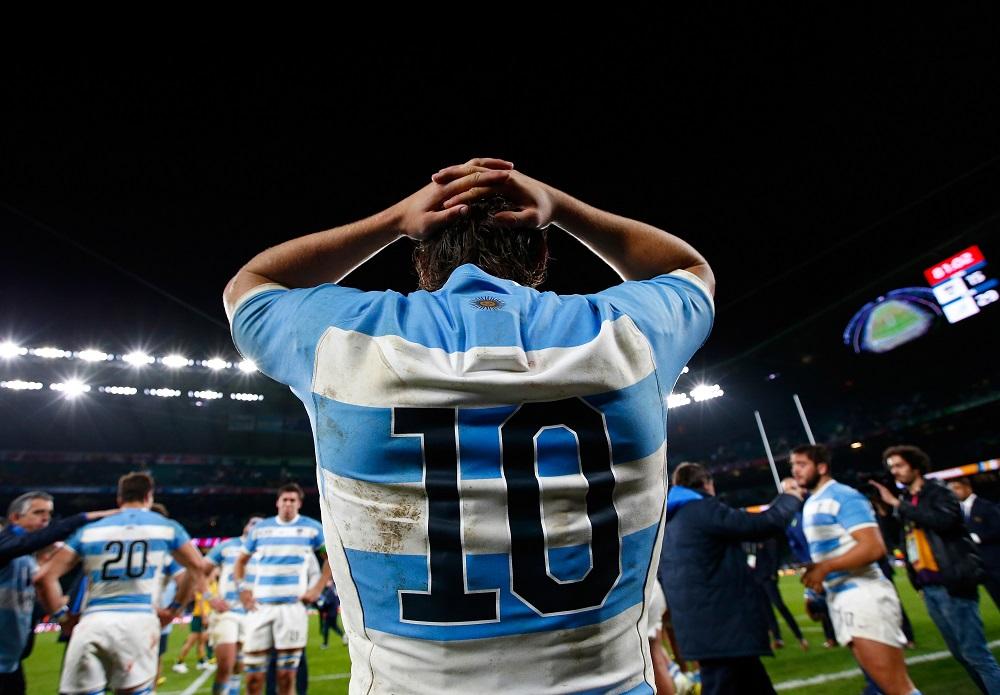夢のW杯決勝進出を惜しくも逃したアルゼンチン。SOサンチェスは悔し涙(C)Getty Images