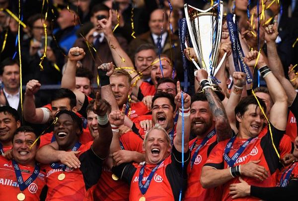 サラセンズが欧州チャンピオンズカップ連覇! クレルモンは悲願の初Vならず