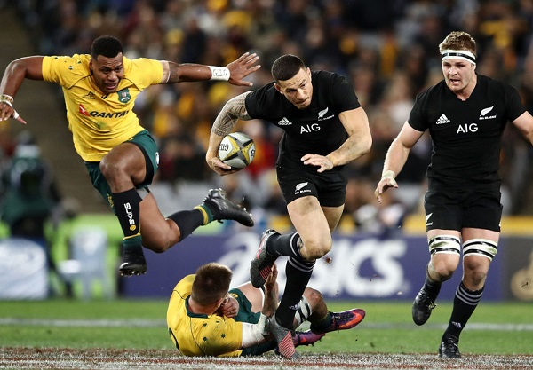 ライバル対決第1戦は計12トライの乱戦 NZが豪州戦の最多得点記録更新