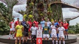 シンガポールセブンズで日本が強豪に挑む(C)HSBC Singapore Rugby S…