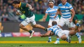 打倒NZの一番手? 南アフリカが南半球4か国対抗初戦でアルゼンチンに快勝