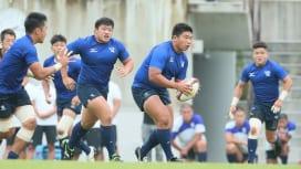 U20日本代表の安昌豪は運動量こだわる。離脱者続出にも「適応していく」。