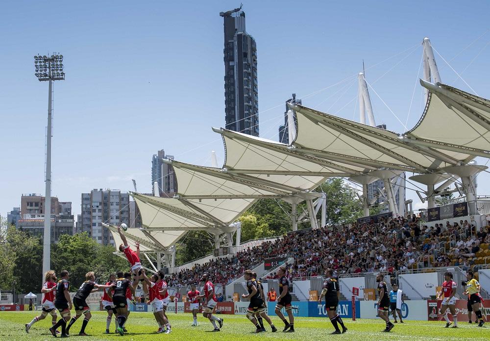 香港でスーパーラグビー初開催。旺角大球場でサンウルブズ対ストーマーズ(C)Getty Images