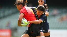 中国に敗れるも、サクラセブンズ、リオ五輪予選第1戦・香港大会決勝進出。