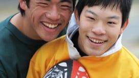 子は育つ。3年後の玄祺と勇太。  田村一博(ラグビーマガジン編集長)