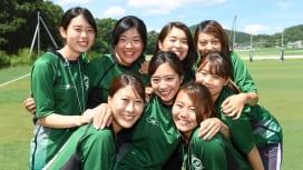 首都大学東京ラグビー部のマネージャーたち(C)Hiroaki.UENO