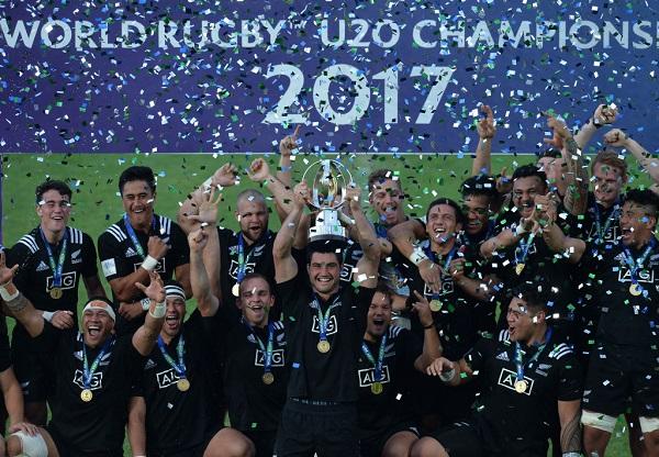 ワールドラグビーU20チャンピオンシップ2018 日本は王者NZと同組
