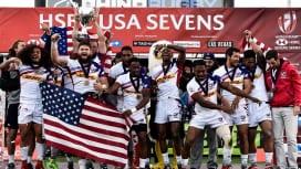 アメリカが自国で初の戴冠! セブンズシリーズで3年ぶり2回目のカップ優勝