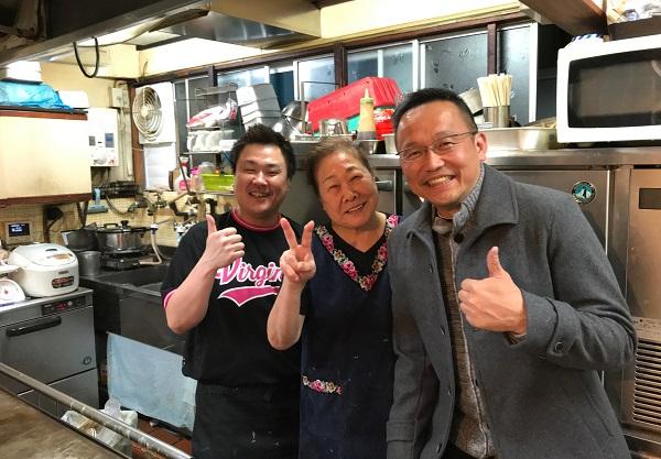 ラグビーマンのおかあちゃん お好み焼き『吉野』 店主・吉野久子さん