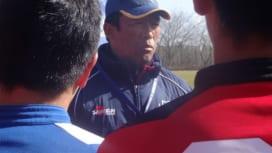 有終の美を 斎藤・朝明、最後の選抜へ