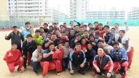 初の選抜に挑む 神戸市立科学技術高校