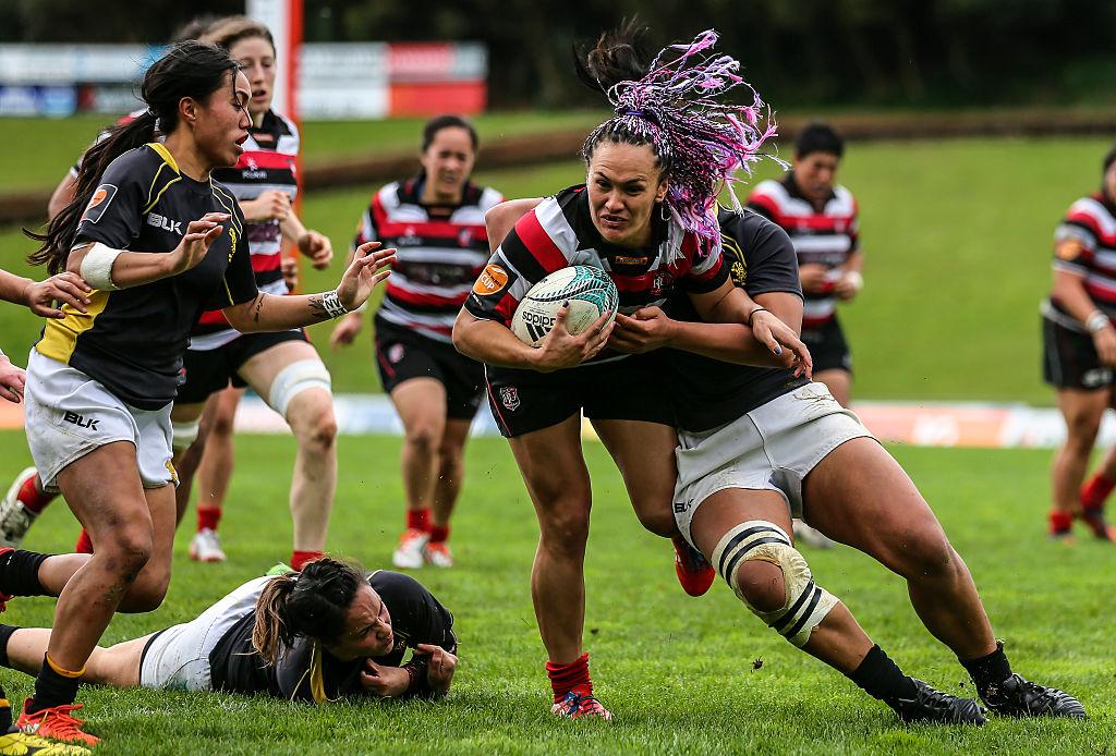リオ五輪で泣いたポーシャ・ウッドマンは今、NZ国内女子15人制で活躍中(C)Getty Images