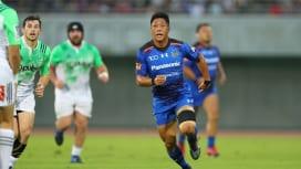 パナソニック山沢拓也、地の利生かして代表復帰へ一歩、一歩。